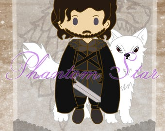 Game of Thrones Chibi Prints