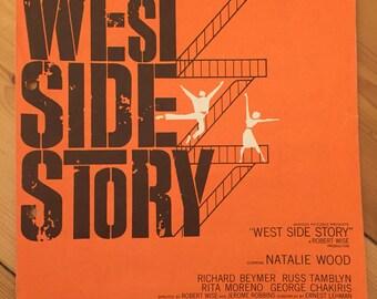 "West Side Story - ""Tonight"" - sheet music (Natalie Wood)"