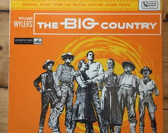 The Big Country - Soundtrack - Vinyl (Gregory Peck / Jean Simmons)