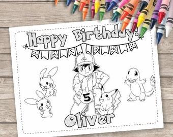 Pokemon birthday | Etsy