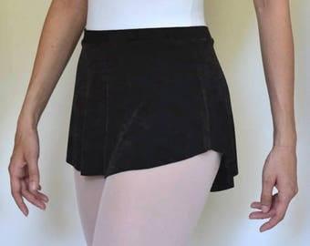 The Dark Brown Ballet Skirt