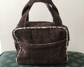 Soft corduroy purse