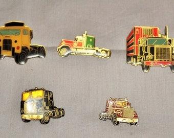lot of 5 pins Truck