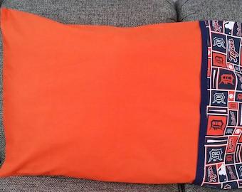 Baseball pillowcases,Detroit Tigers pillowcases,
