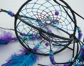 Purple and Blue 3D spiral dreamcatcher,  Mobile,  Double Dream Catcher