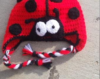 ladybug hat child size