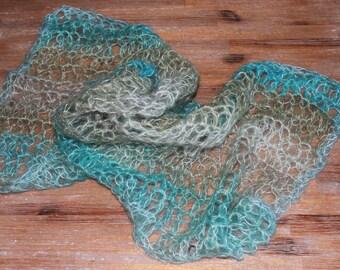Crochet Mohair Wraps