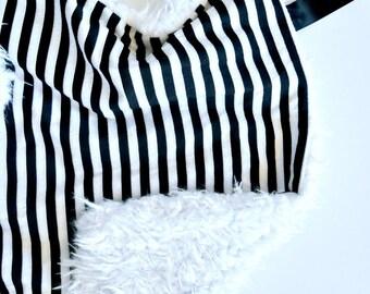 Black and white stripes Blanket, Neutral Baby Lovey, Minky baby lovey, Minky soft baby blanket, Boy lovey, Girl Lovey, Minky Lovey, Blanket