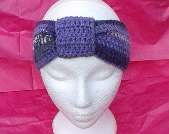 Knotted Headband Crochet Handmade