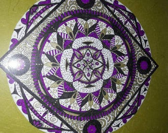 Mandala Mulberry paper