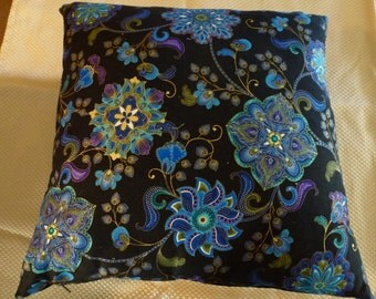 Blue Flowers - cushion cover