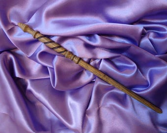Hand turned wooden Wand