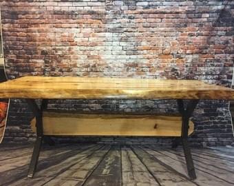 Pine Live edge table