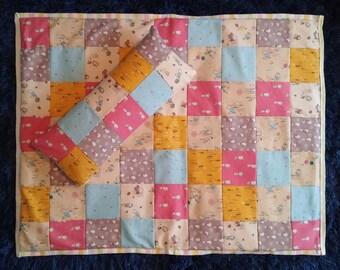 Baby blanket quilt patchwork Peter rabbit