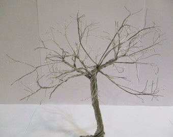 Winter tree sculpture