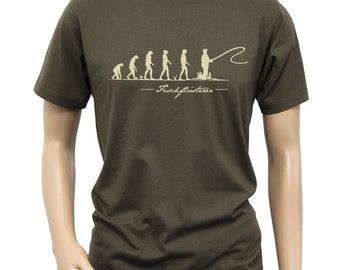 "T-Shirt ""Fish Whisperer-evolution"""