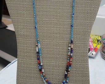 Dream Weaver beaded necklace