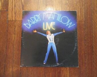 "Barry Manilow - ""Live"" Vinyl Record"