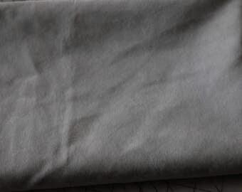 6 Gray Velour Velvet Upholstery Fabric
