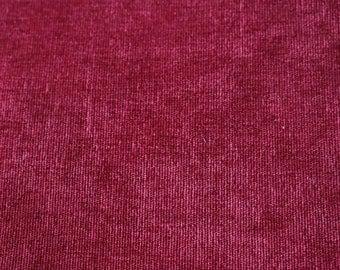 17 Burgundy velvet upholstery fabric