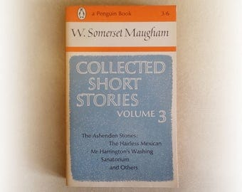 W Somerset Maugham - Collected Short Stories Volume 3 - Penguin vintage paperback book - 1965