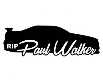 For Paul Fast and Furious Premium Vinyl Decal