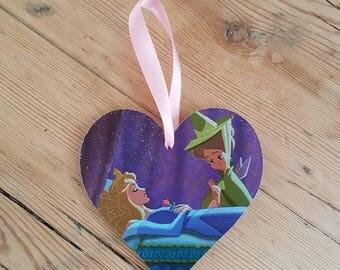 Sleeping Beauty Disney Inspired Hanging Wall Decoration