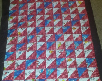 "Dr. Seuss HANDMADE quilt - NEW 45"" x 60"" (Made to Order)"