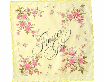 Flower Girl Handkerchief