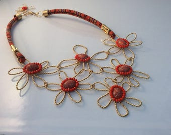 Necklace of flowers