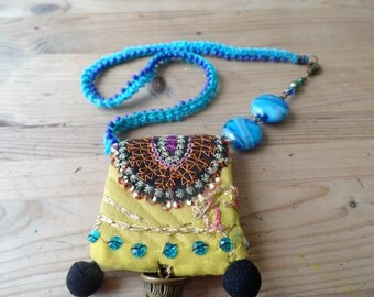 Amulet necklace charm