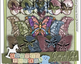 Butterly Art by sheyzz toybox