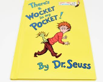 DR. SEUSS There's a Wocket in my Pocket! Book ~ Dr. Seuss ~ Dr. Seuss Classics ~ Dr. Seuss Children's Books ~ Dr. Seuss Beginner Books