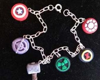Avengers Charm Bracelet