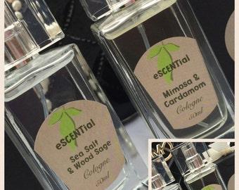 Handmade perfume- sea salt and Woodsage