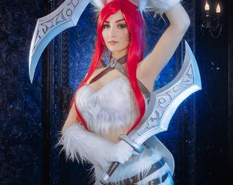 SALE!! Kitty Cat Katarina Cosplay League of Legends