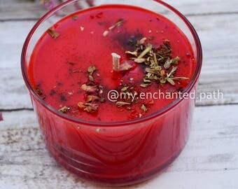Love Enchantment Spell Candle