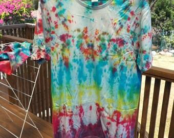 Handmade Tie Dye Tshirt - Size L
