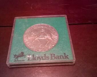 Lloyds Bank Queen Elizabeth II Silver Jubilee Coin