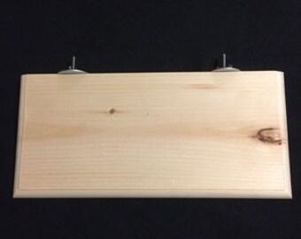 "12"" KD Pine Wood Shelf"