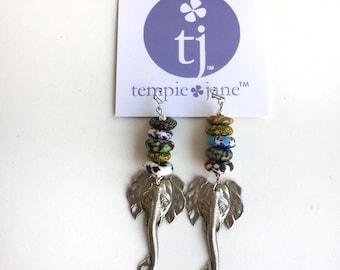 Tribal Elephant Earrings