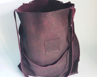leather bags women - leather tote bag - leather purse  - tote bag - laptop bag - leather tote - leather work tote - purple leather purse