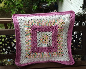 Beautiful Custom Crochet Square Baby Blankets