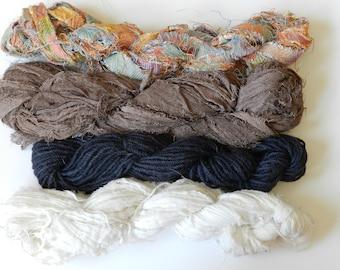 """7# """"Rustic Rainbow"""" texture/wool pack"""