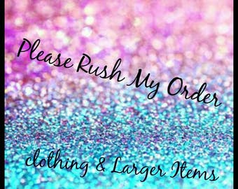 Please Rush My Order, baby clothing, childrens clothing, ladies clothing, Mens clothing. PLEASE READ