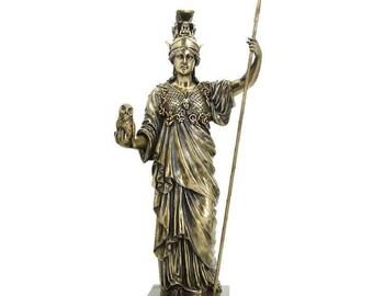 Decorative Statue With The Greek Goddess of wisdom