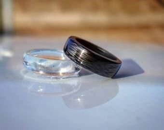 Handmande carbon ring