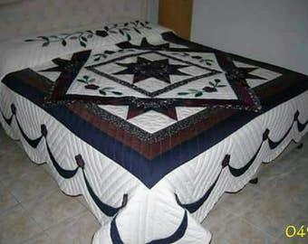 Cotton Quilt, Stars pattern