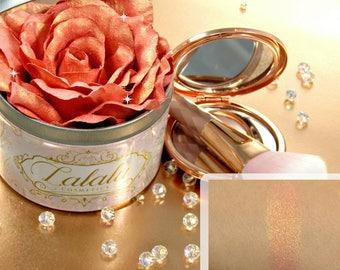 Rose Highlighter Makeup Ellie Highlighter Infused Rose Duo Chrome Rose Gold, Gold Highlight, Mineral Makeup, Vegan Makeup, Gifts for Her