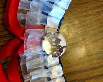Captain America inspired garter